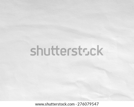 Paper texture. White paper sheet - stock photo
