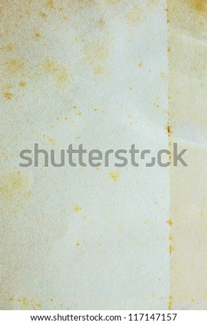 Paper Texture With Tape Paper On From Repaired - stock photo
