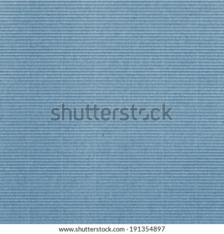 Paperboard blue - stock photo