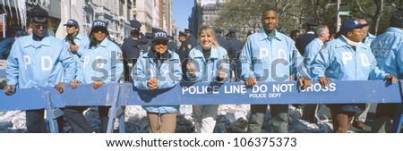 Parade for 1998 World Series Champions NY Yankees, New York - stock photo