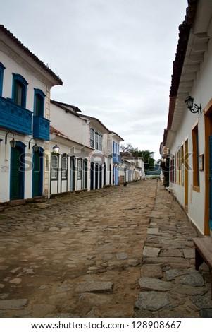 Paraty, Brazil - stock photo