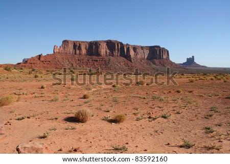 Parc national de Monument Valley Navajo Tribal Park, usa 16 - stock photo