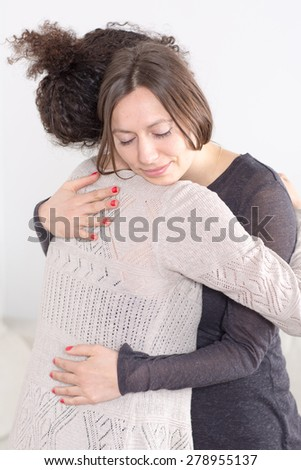 Pardon a friend - stock photo