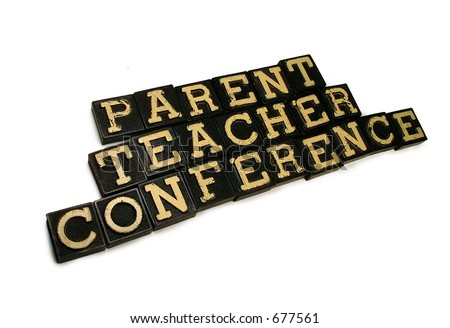 Parent/Teacher Conference - stock photo