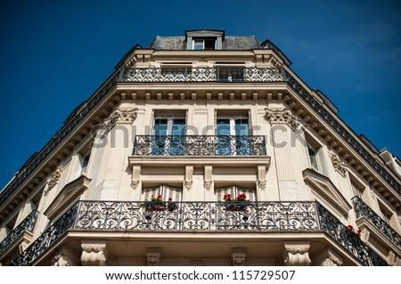 Paris architecture - stock photo