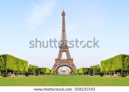 Paris Best Destinations in Europe  - stock photo