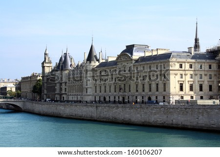 Paris-France - stock photo