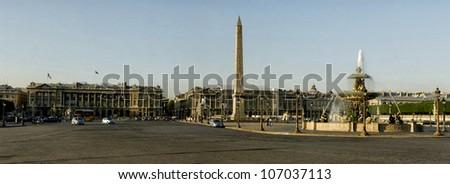 Paris place de la Concorde - stock photo