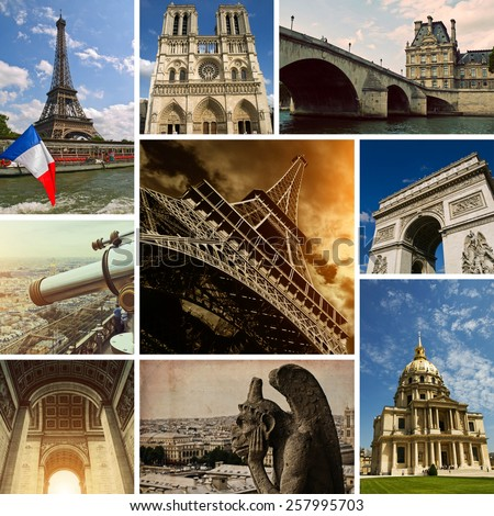 Paris Views - Photo Collection - stock photo