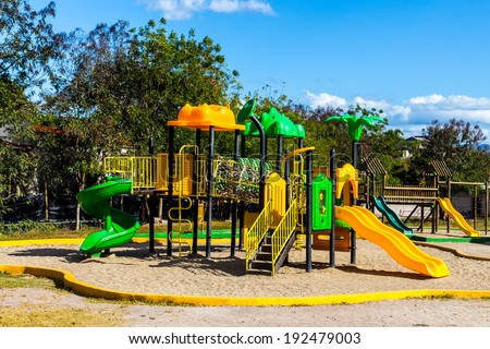 park game - stock photo