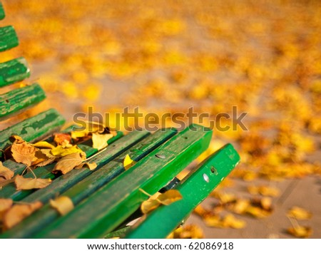 Park in the city - stock photo