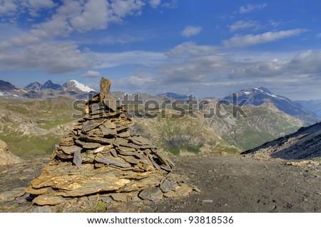 Park of Vanoise, The French Alps. - stock photo