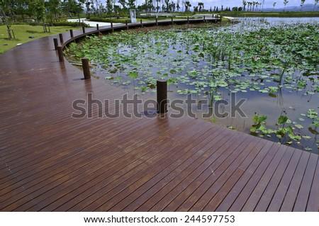 Park View High Lampang, Thailand. - stock photo