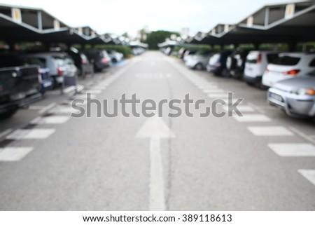 parking - stock photo