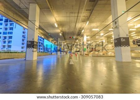 Parking / Garage - stock photo