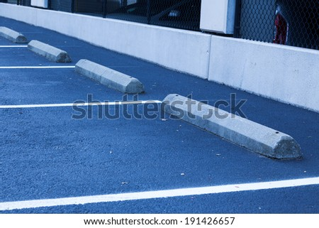 Parking Spaces - stock photo
