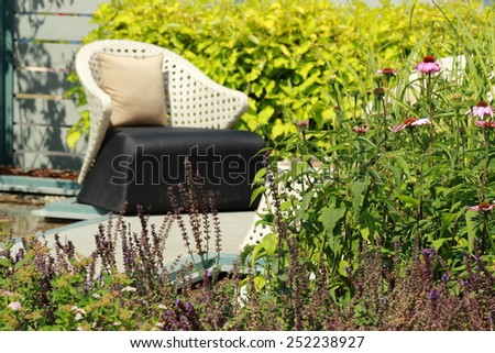 Parks Colourful Flowerbeds flower green circle summer colour garden design formal public nature holiday winding blossom pathway weather walkway sunlight ornament outdoors vacation beautiful. - stock photo