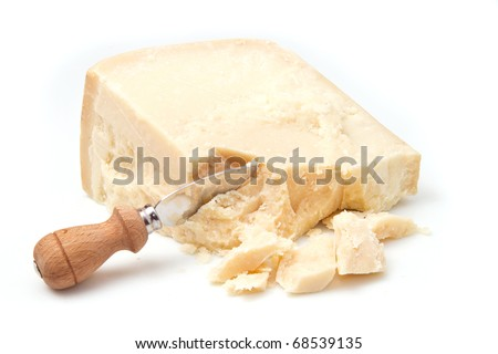 parmesan cheese - stock photo