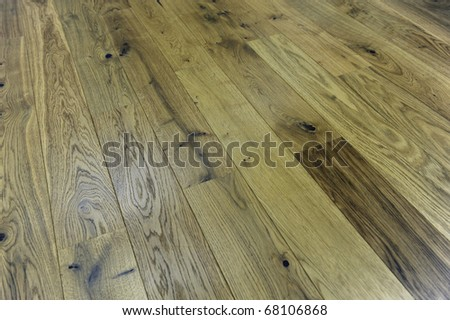 Parquet floor - stock photo