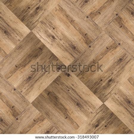 parquet floor background - stock photo