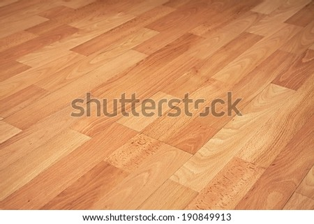 Parquet texture of a room - stock photo