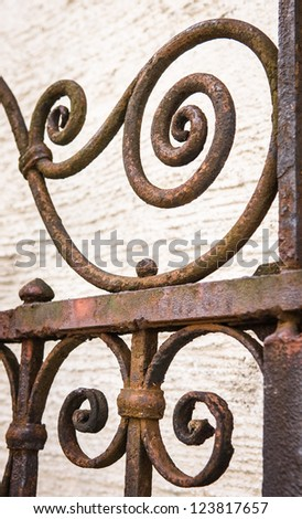 Iron Fence Stock Photos Images Amp Pictures Shutterstock