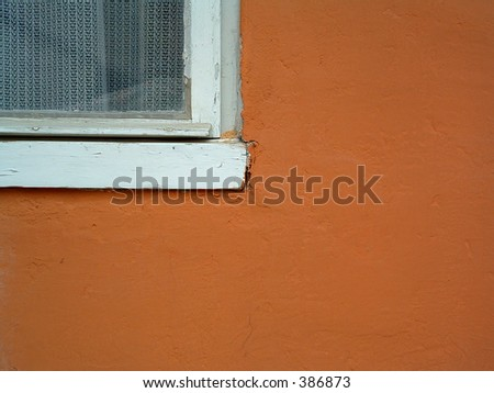part of the window - stock photo