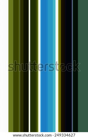 Parti-colored abstract of parallel stripes of various widths - stock photo