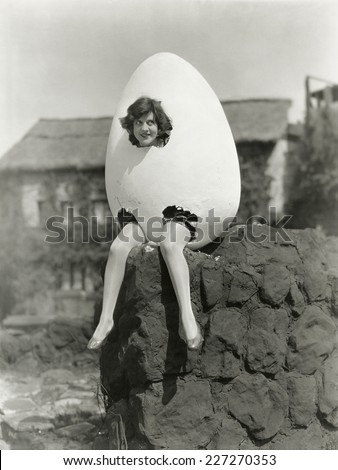 Partially hatched plan - stock photo