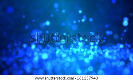 Particle Background - stock photo