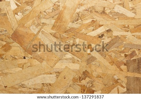 Particle Board  wooden panel background - stock photo