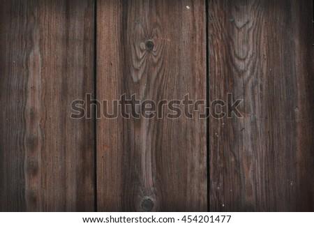 Partl of old wooden door backgound - stock photo