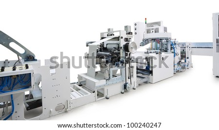 Printing machine stock photos illustrations and vector art