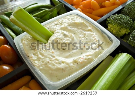 Party Dip - stock photo