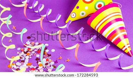 Party hats  - stock photo