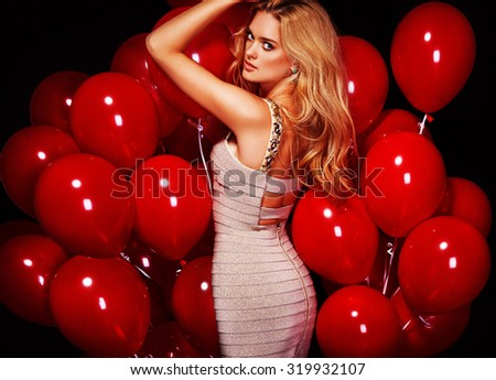 Party. Sexy girls. Celebrating. - stock photo