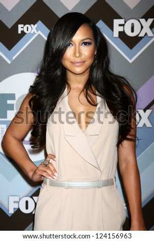 PASADENA, CA - JAN 8:  Naya Rivera attends the FOX TV 2013 TCA Winter Press Tour at Langham Huntington Hotel on January 8, 2013 in Pasadena, CA - stock photo