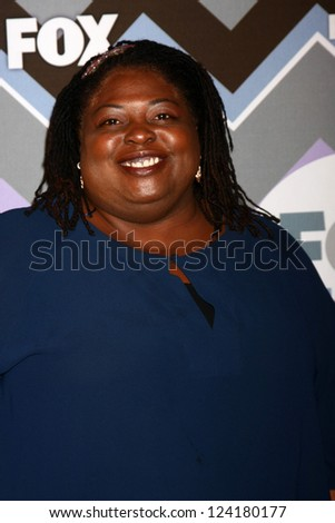 PASADENA, CA - JAN 8:  Sonya Eddy attends the FOX TV 2013 TCA Winter Press Tour at Langham Huntington Hotel on January 8, 2013 in Pasadena, CA - stock photo