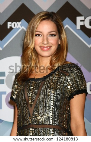 PASADENA, CA - JAN 8:  Vanessa Lengies attends the FOX TV 2013 TCA Winter Press Tour at Langham Huntington Hotel on January 8, 2013 in Pasadena, CA - stock photo
