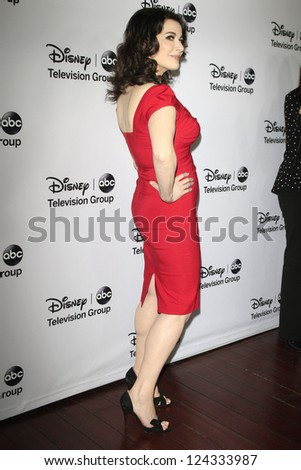 PASADENA - JAN 10: Nigella Lawson at the Disney ABC Television Group 2013 TCA Winter Press Tour at The Langham Huntington Hotel on January 10, 2013 in Pasadena, CA - stock photo