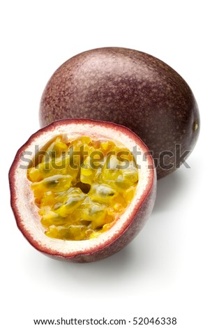Passion fruit - stock photo