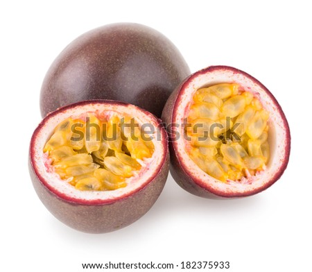 passion fruits - stock photo