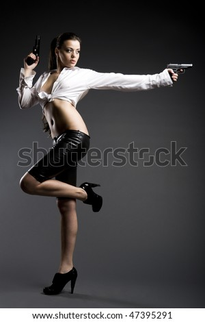Passion girl - stock photo