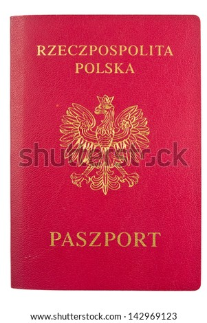 passports over white background - stock photo