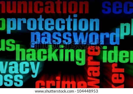 Password - stock photo