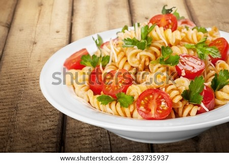 Pasta, Food, Healthy Eating. - stock photo
