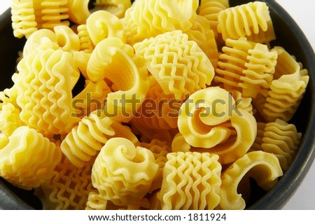 Pasta radiatori - stock photo