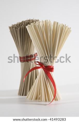 Pasta, vermicelli, macaroni, noodles - stock photo