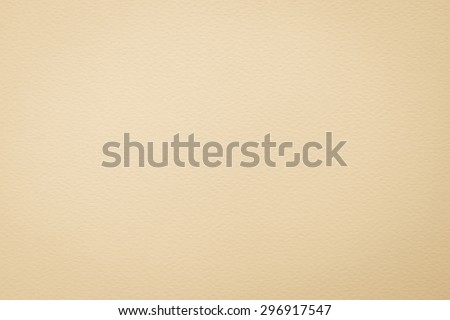 Pastel antique beige yellow cream tone water color paper texture: Water colour paper textured background in light yellow beige creme tone with vignette   - stock photo