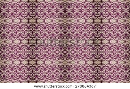 Pastel colors background geometric repeat digital ornament pattern - stock photo